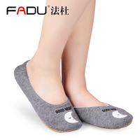 女士春秋家居袜地板袜防滑袜套瑜伽袜早教袜成人地板鞋居家室内鞋