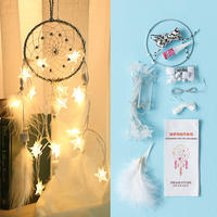 Dream catcher bag diy hanging ornaments wind bell pendant room girl heart creative handmade ornament hanging ornaments