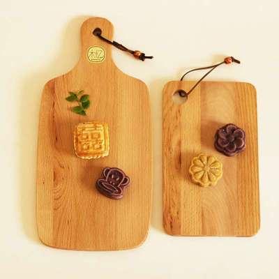 披萨板面包砧板切水果儿童沙拉板子厨房烘焙木质食器用具