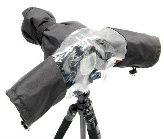 佳能尼康索尼单反相机雨衣摄影遮雨衣防水防尘罩中长焦相机防雨罩