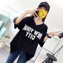 300斤特大码女装200韩版230短袖T恤25加肥加大260斤胖mm240斤夏装