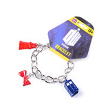 Doctor who mysterious doctor peripheral sound speed screwdriver lobster necklace crying angel police box necklace bracelet