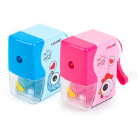 Pencil Sharpener Hand Pencil Sharpener Pencil Sharpener Female Child Automatic Pencil Primary School Student Hand Cartoon Pencil Sharpener Pencil Sharpener Manual Hand-cranked Small Pencil Sharpener Multi-function Pencil Sharpener
