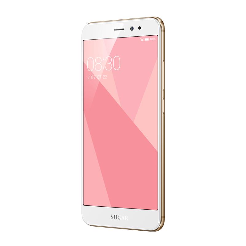 糖果手机5000万高像素64G+3G美颜拍照5.5英寸大屏全网通Sugar C9