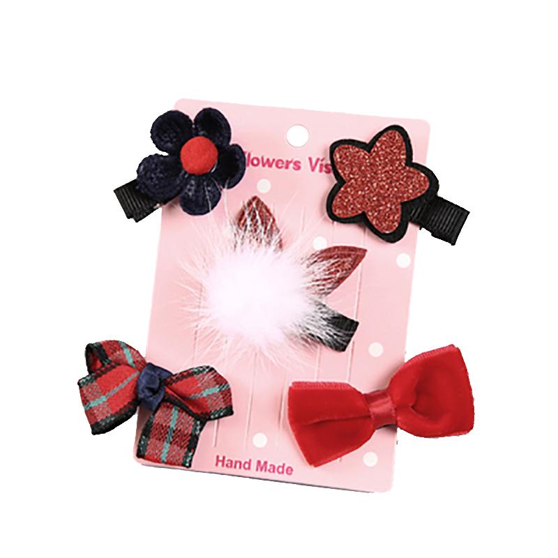 韩国儿童发夹发饰可爱头绳发绳公主宝宝发卡子小女孩头饰套装饰品