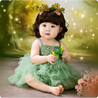 New children's half-year-old baby baby photography clothing hundred days old studio art photo theme photo costume