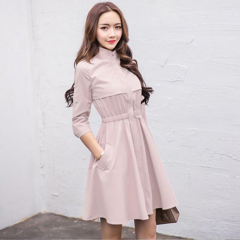 春秋风衣裙