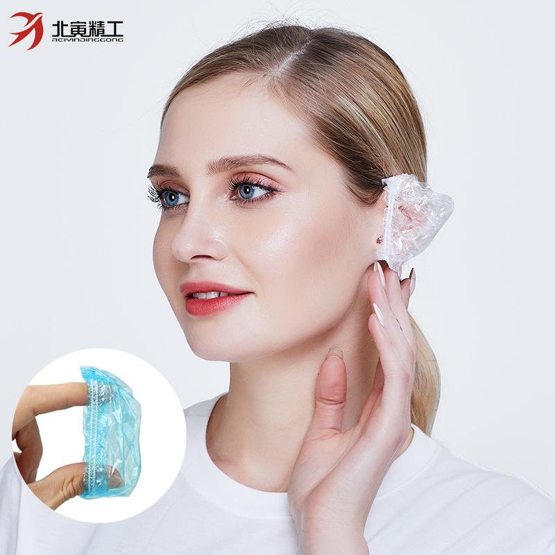 一次性耳套护耳染发美发沐浴洗澡扎耳洞焗油耳朵耳罩防水洗头家用