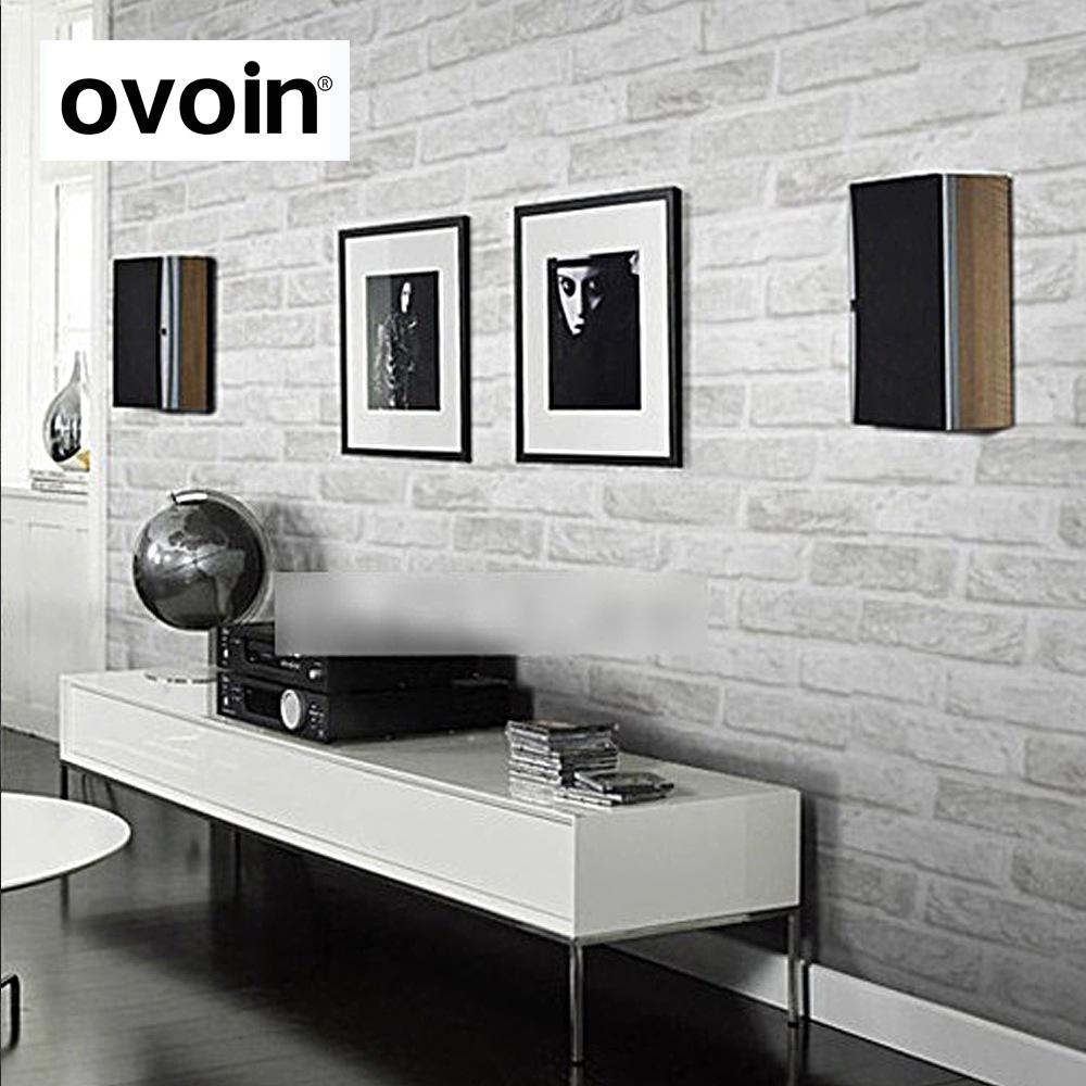 ovoin欧梵恩壁纸仿真砖纹砖块壁纸 客厅卧室电视背景墙纸