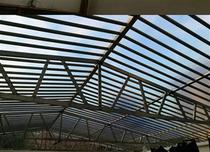 遮雨棚天台塑料阳光板透明pc耐力板户外防晒采光板加厚遮阳棚平板