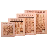 Mathematical Intelligence Development Three Kingdoms Digital Huarong Road Slider Puzzle Puzzle Puzzle School Pupils Children's Toys