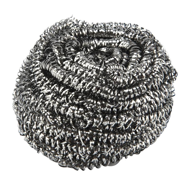 钢丝球 家用洗碗碟钢丝球圆形除锈厨房刷锅金属清洁球 钢丝刷