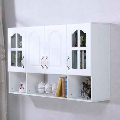 还阁厨房吊柜壁柜阳台储物柜浴室玻璃挂柜欧式门阳台置物橱柜定做