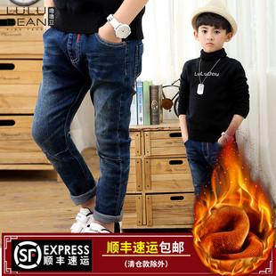 男宝宝冬裤子加厚