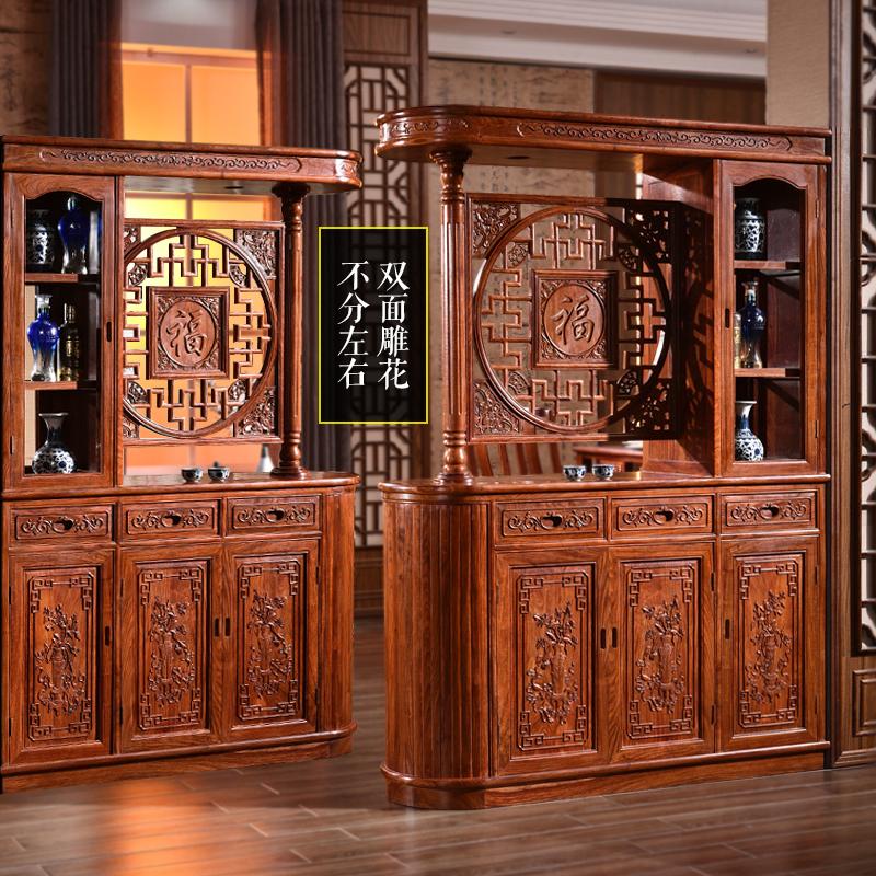 红木玄关柜隔厅柜