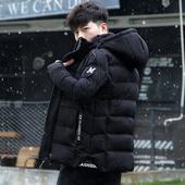 棉袄羽绒棉服 修身 加绒加厚韩版 短款 外套棉衣冬季2017新款 男士 男装图片