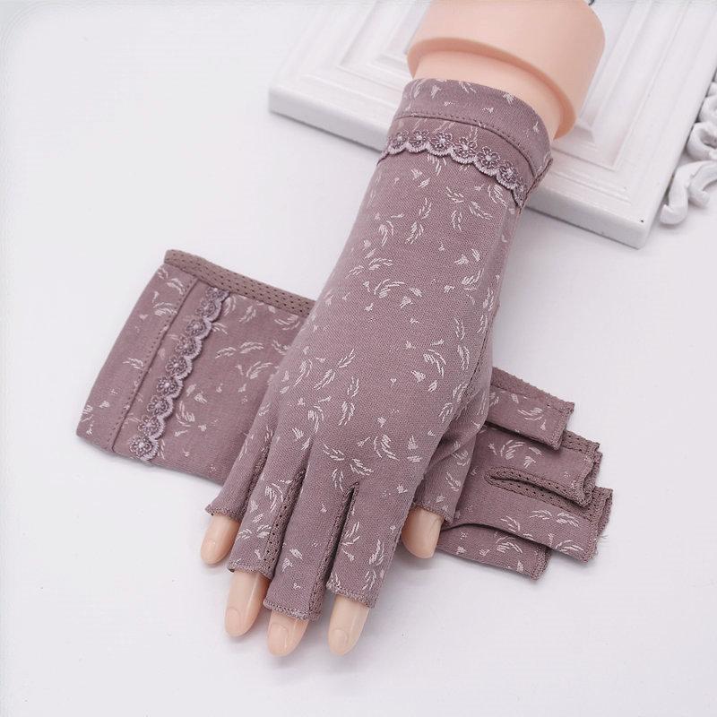 Женские перчатки без пальцев Артикул 570002958927