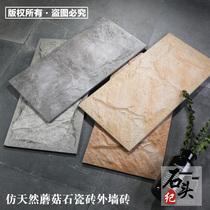 外墙砖仿古喷墨瓷砖文化石花岗岩柏兴陶瓷50cm15别墅外墙工程砖