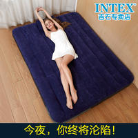 INTEX air bed double air mattress single bed male folding bed home double outdoor air air mattress