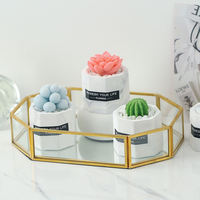 Diy creative handmade small gifts cute personality succulent plant soap mini styling gift box hand-washing ornaments