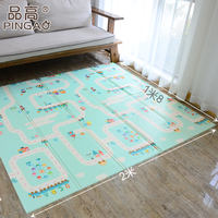 Baby crawling mat thickening Living room home Baby climbing mat Collapsible Unscented stitching children's mat
