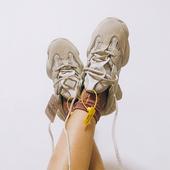 网红港风运动丑ins超火泡面小希原宿火焰韩版 老爹鞋 女2018新款图片