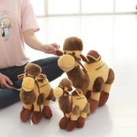 可爱敦煌骆驼毛绒玩具公仔玩偶布娃娃生日礼物LOGO定制抓机娃娃