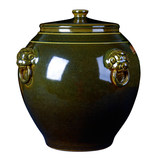 Jingdezhen ceramic jars 50/100 kg loaded cylinders wine jars wine barrels with household tea wine tank