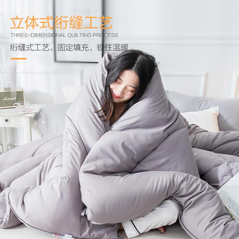 南极人被子冬被加厚保暖春秋被芯空调被棉被褥单人双人冬季太空被