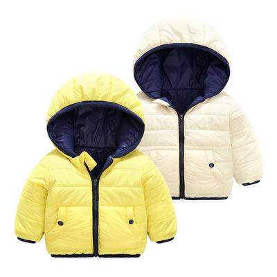 女童棉衣服2017新款婴儿外套装洋气冬装宝宝0岁1个月3新生儿2冬季