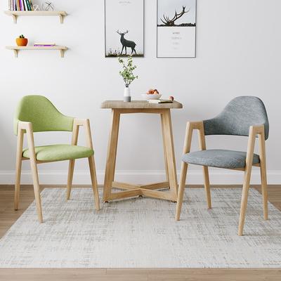 北欧风椅子现代简约书桌椅创意网红电脑凳子靠背家用北欧成人餐椅