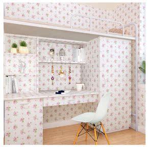衣柜贴纸家具翻新自粘背景宿舍大学生寝室男女壁纸卧室墙贴卡通