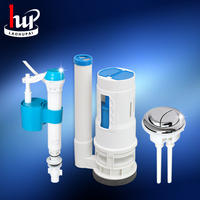 Old Hu brand flush toilet drain valve Old-fashioned toilet inlet and outlet water valve tank button accessories
