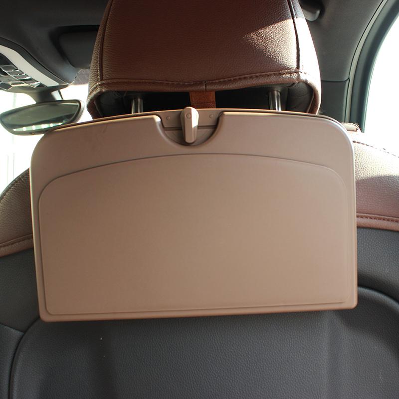 汽车用车载书桌写字小桌板折叠饭桌车内后排桌子吃饭餐桌后座神器
