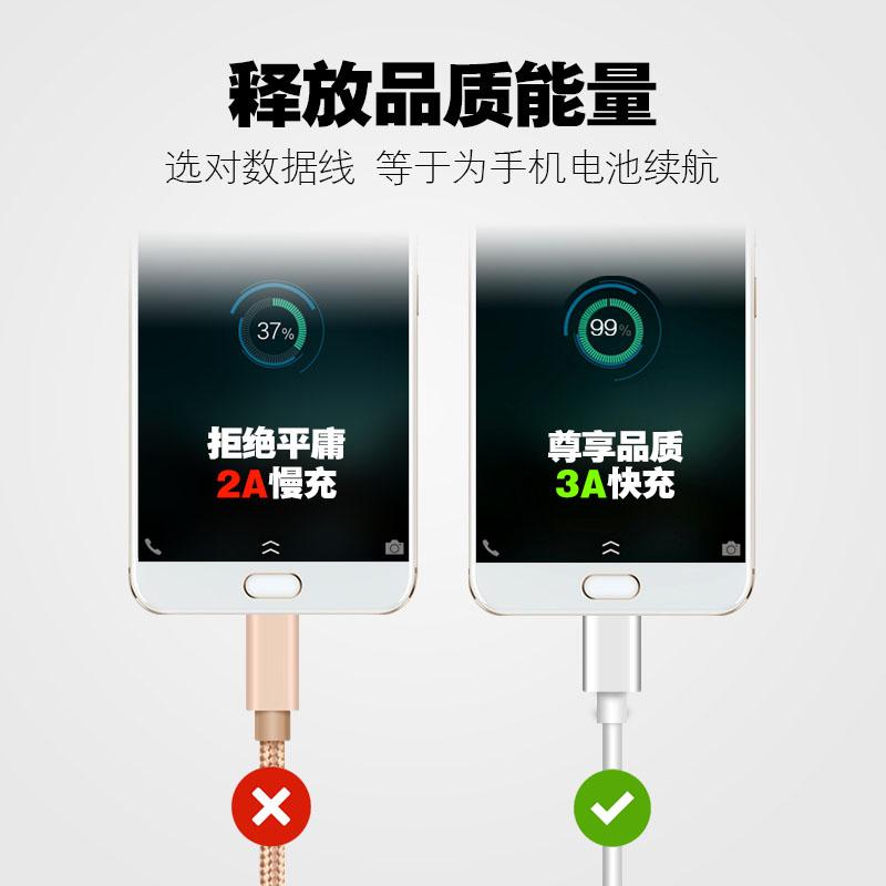 安卓手机高速快充原装数据线充电器魅族oppo华为三星小米vivo通用优惠券