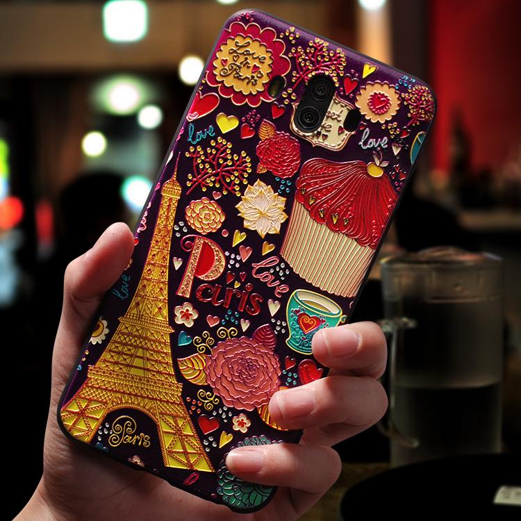 华为mate10手机壳mate10pro潮男女款韩国个性创意软硅胶全包防摔