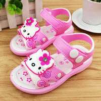 Girls sandals 2018 summer new beach shoes children students sandals girls small children's shoes Korean Princess shoes