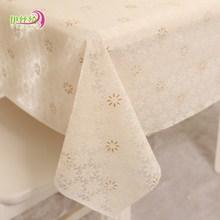 订制PVC欧式田园桌布防水免洗塑料布艺餐桌布台布防油桌垫茶几垫