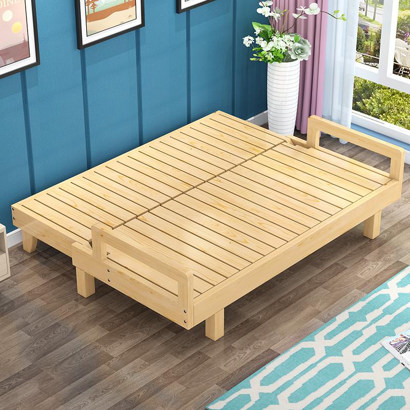 木质沙发床
