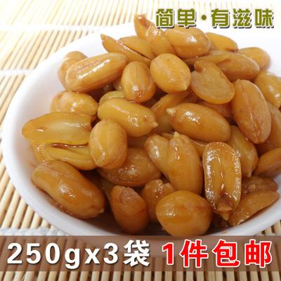 【天天特价】山东特色酱花生米酱花生仁 酱菜咸菜下酒小菜 750g