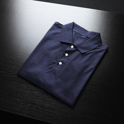 外贸工厂尾货男装 夏季薄款男士大码商务休闲翻领短袖T恤POLO衫潮