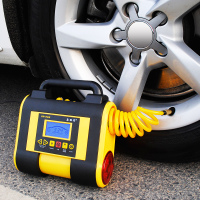 嘉西德 数显车载充气泵小轿车越野12V汽车用轮胎打气泵电动加气泵