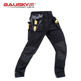 Sweden Bauskydd tooling overalls custom suit autumn trousers multi-pocket wear-resistant solid machine pants loose