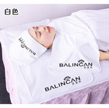 Beauty salon three-piece towel turban scarf chest towel pillow skirt thickening not lint embroidered word logo