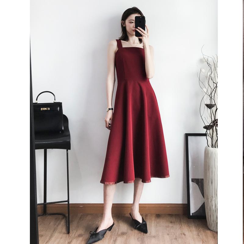 一字领连衣裙a型