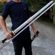 金属鞘龙泉剑镇宅宝剑防身长款刀剑锰钢剑刀汉剑冷兵器古剑未开刃