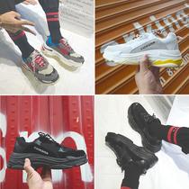 低帮厚底增高休闲鞋男韩版潮流运动鞋学生百搭气垫跑步鞋布鞋潮流