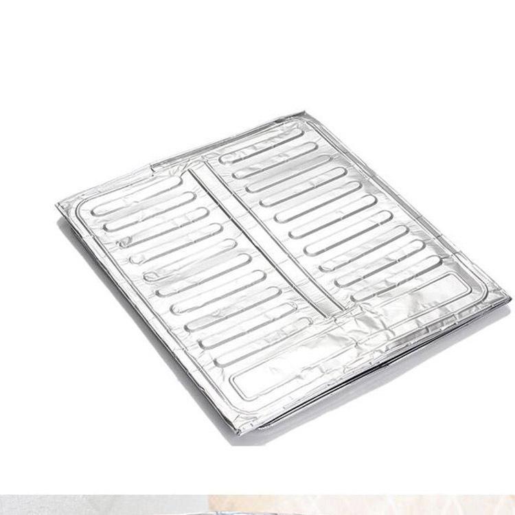 厨房铝箔耐高温隔热挡油 防油板 厨房灶台隔油板 厨房防溅板