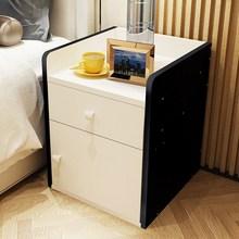 户型卧室储物柜透明架子床头柜 简约现代50元以内田园风长方形组