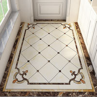 Front entrance porch entrance hall European entrance door home floor mats door carpet simple door mats mats can be cut